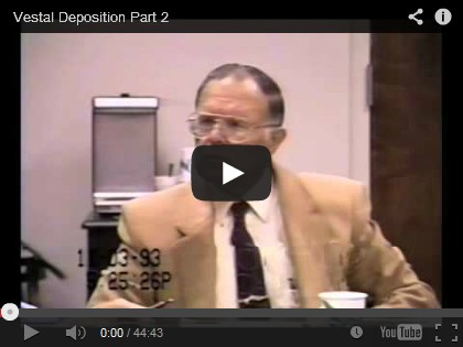 Watch part 1 and part 2 of Elden Vestal's 1993 deposition, where he discusses the remarkable historical habitat conditions and wildlife in the Mono Basin.